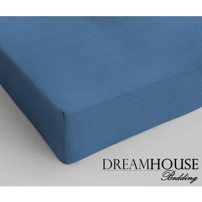 Dreamhouse Bedding Hoeslaken Katoen Dreamhouse Blauw blauw