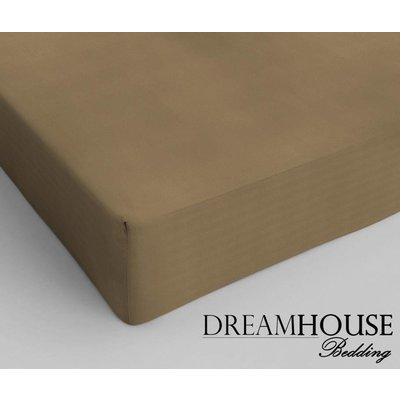 Dreamhouse Bedding Hoeslaken Katoen Dreamhouse Taupe taupe
