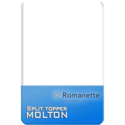 Romanette Split Topper Molton