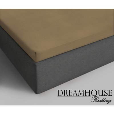 Dreamhouse Bedding Topper Hoeslaken Katoen Taupe