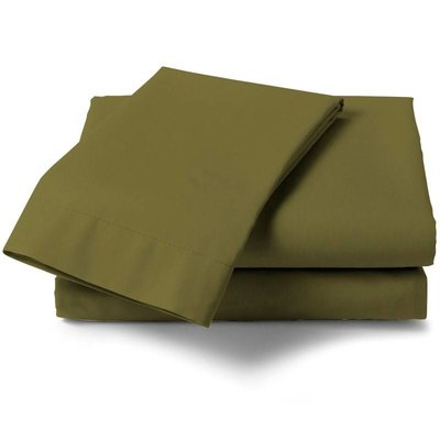HNL Living Hoeslaken Perkal Katoen HNL Royal Cotton Burnt Olive