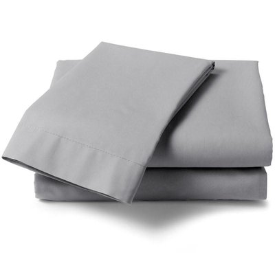 HNL Living Hoeslaken Perkal Katoen HNL Royal Cotton Silver Grey
