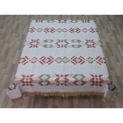 Huismerk Handweef Tafelkleed Rhodos 1