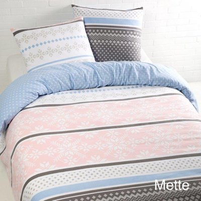 Day Dream Dekbedovertrek Day Dream Mette Blauw Flanel