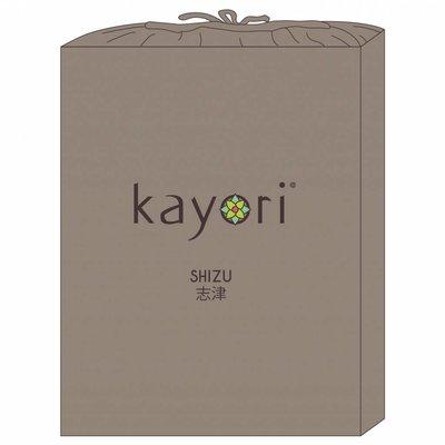 Kayori Topper Hoeslaken Taupe Shizu Jersey