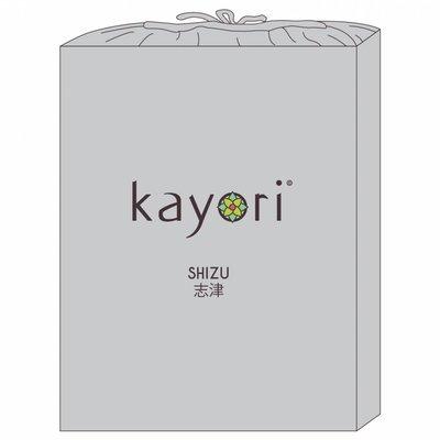 Kayori Topper Hoeslaken Zilver Shizu Jersey