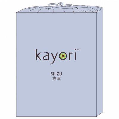 Kayori Topper Hoeslaken Lichtblauw Shizu Jersey
