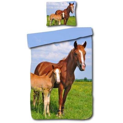 Day Dream Dekbedovertrek Paard Katoen