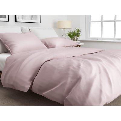 ZO! Home Dekbedovertrek Satinado Shady Pink Katoen/Satijn