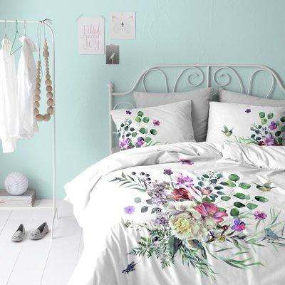 Cinderella Dekbedovertrek Abbey Flowers White Katoen
