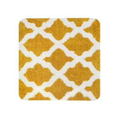 Dutch House WC Mat Toulon Yellow Vierkant