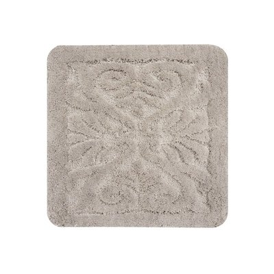 Dutch House WC Mat Calais Taupe Grey Vierkant
