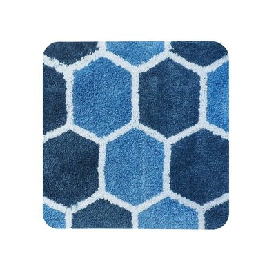 Dutch House WC Mat Rennes Blue Vierkant