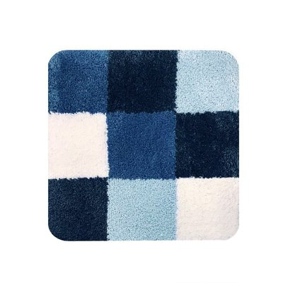 Dutch House WC Mat Brest Blue Vierkant