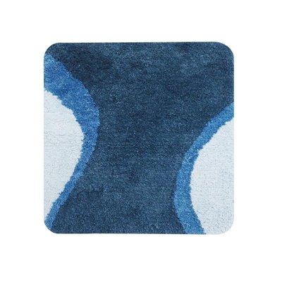 Dutch House WC Mat Metz Blue Vierkant