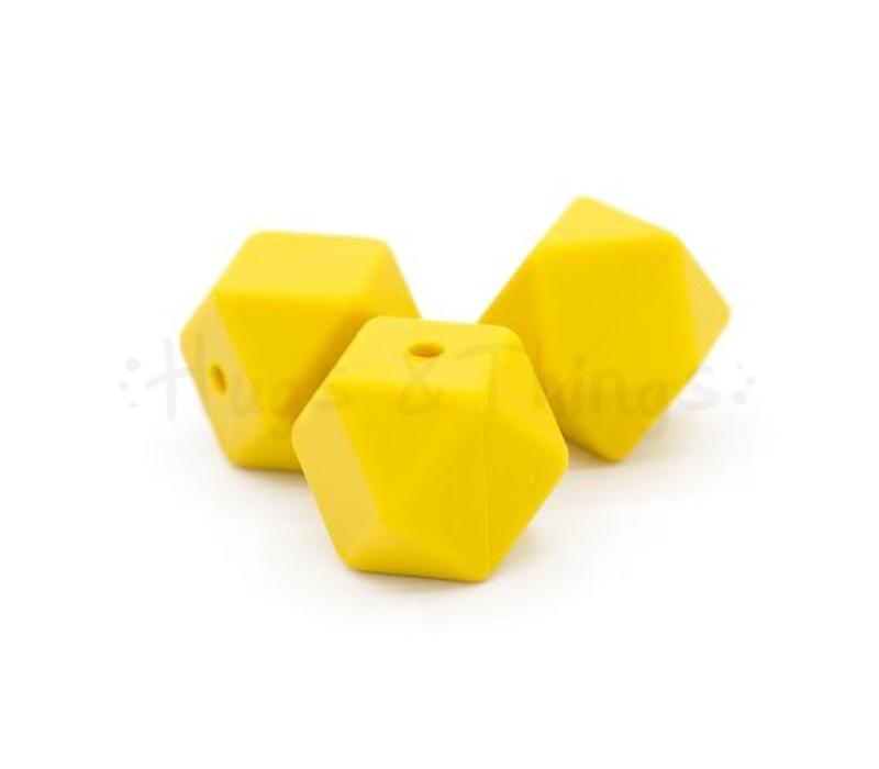Hexagon -  Okergeel/Mosterdgeel
