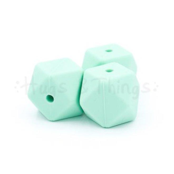 Hexagon -  Mintgroen