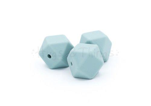 Exclusief bij Hugs & Things Hexagon - Grijsblauw