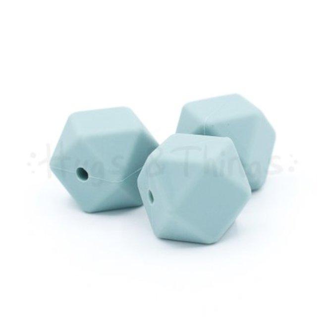 Hexagon - Grijsblauw