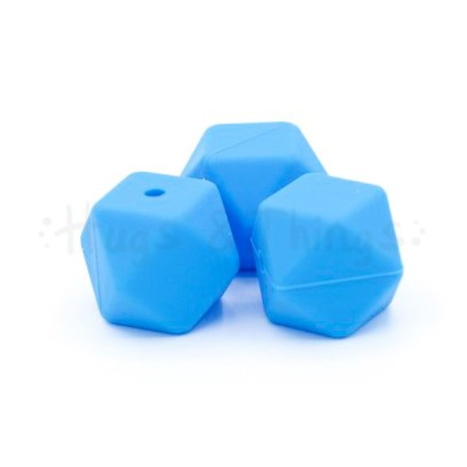Hexagon - Blauw