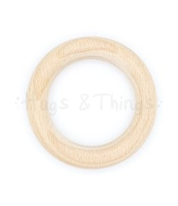 Houten Ring 70 mm