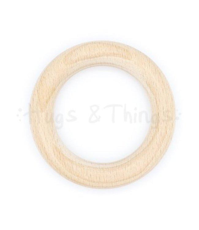 Houten Ring 70 mm