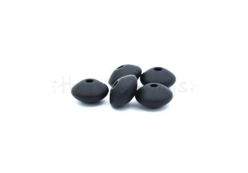 Tussenschijfje - Zwart