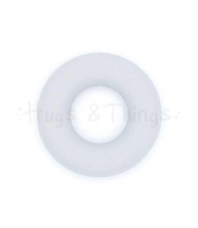 Exclusief bij Hugs & Things Kleine Ring - Lichtgrijs