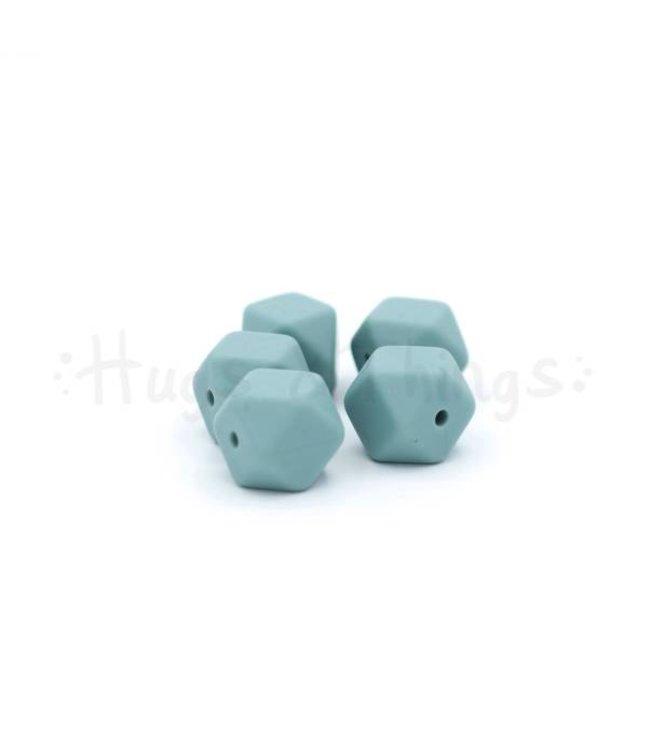 H&T Mini-Hexagon -Grijsblauw