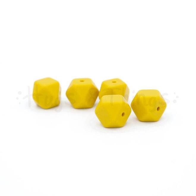 Mini-Hexagon - Okergeel