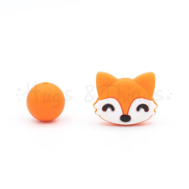 Vosje (Kraal) - Oranje