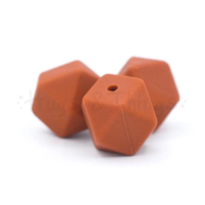 Hexagon - Roodbruin