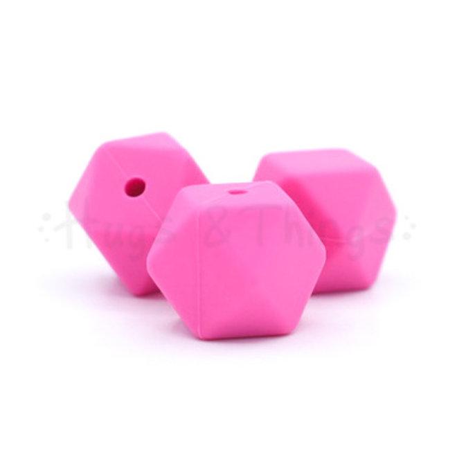 Hexagon - Girly Pink