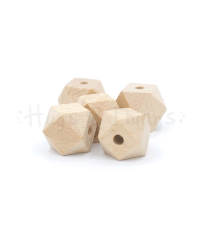 Houten Hexagon - 16 mm