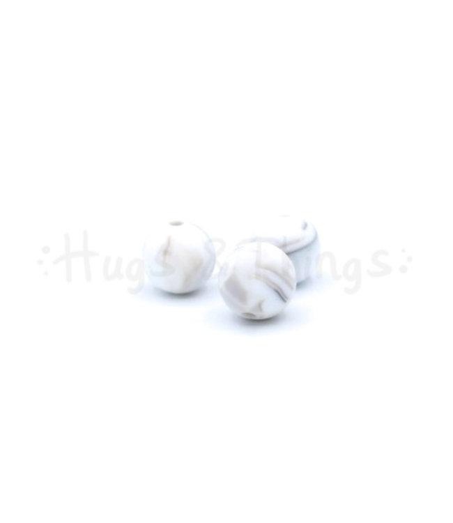 Exclusief bij Hugs & Things 12 mm  - Taupe Marble