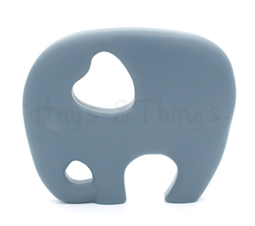 Siliconen bijthangers in de vorm van een olifant