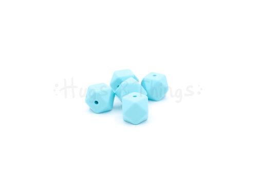 Exclusief bij Hugs & Things Mini-Hexagon - Zachtturquoise