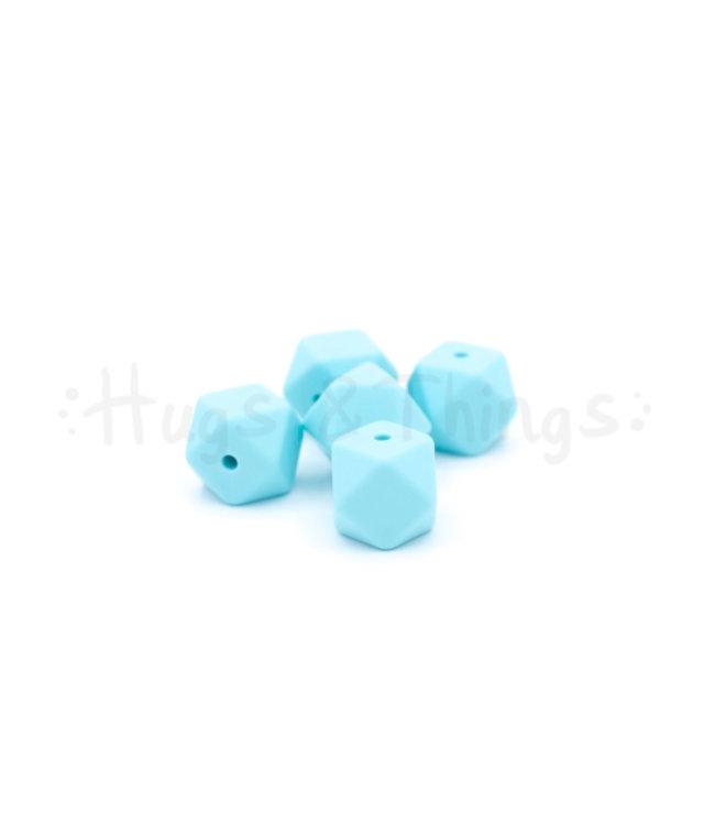 H&T Mini-Hexagon - Zachtturquoise