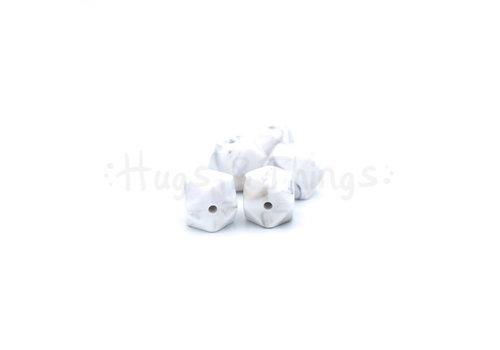 Exclusief bij Hugs & Things Mini-Hexagon - Taupe Marble