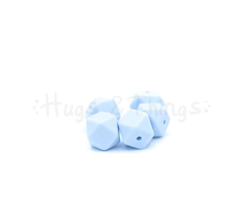 Mini-Hexagon - Poederblauw