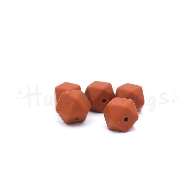 Mini-Hexagon - Roodbruin