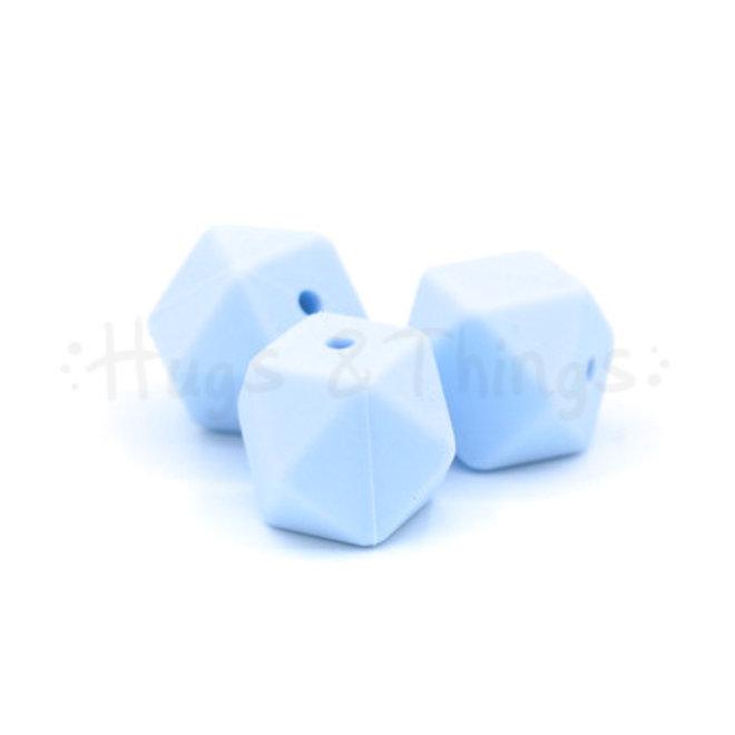 Hexagon -  Poederblauw