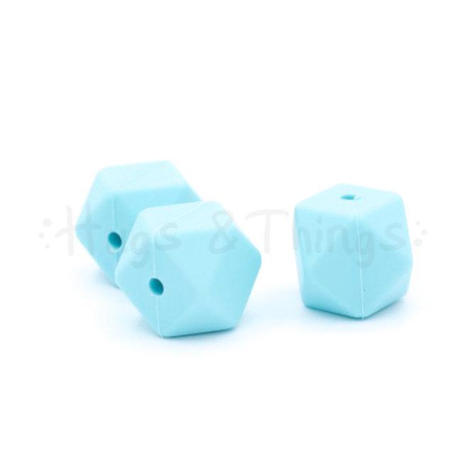 Hexagon - Zachtturquoise