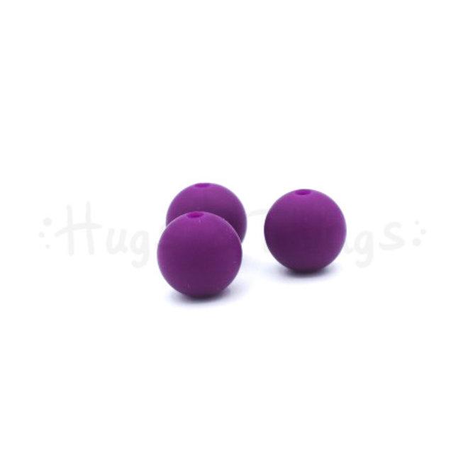 12 mm  - Aubergine