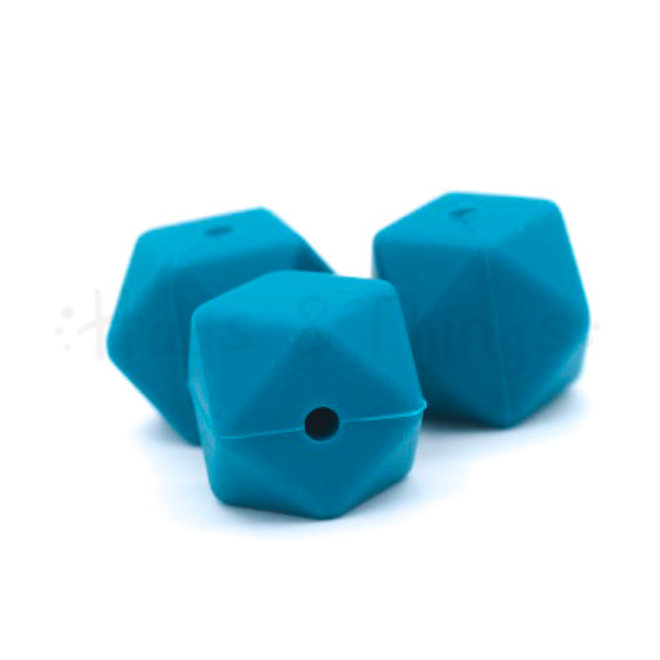 Hexagon - Teal