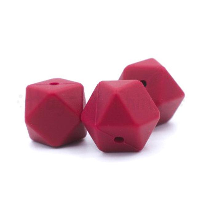 Hexagon - Wijnrood