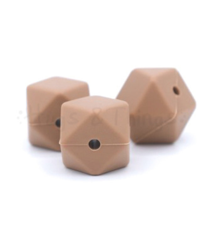 H&T Hexagon - Hazelnoot