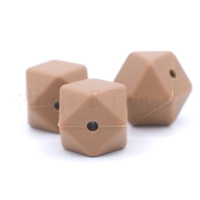 Hexagon - Hazelnoot