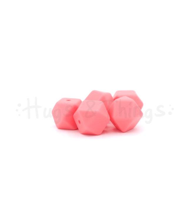 H&T Mini-Hexagon - Flamingoroze