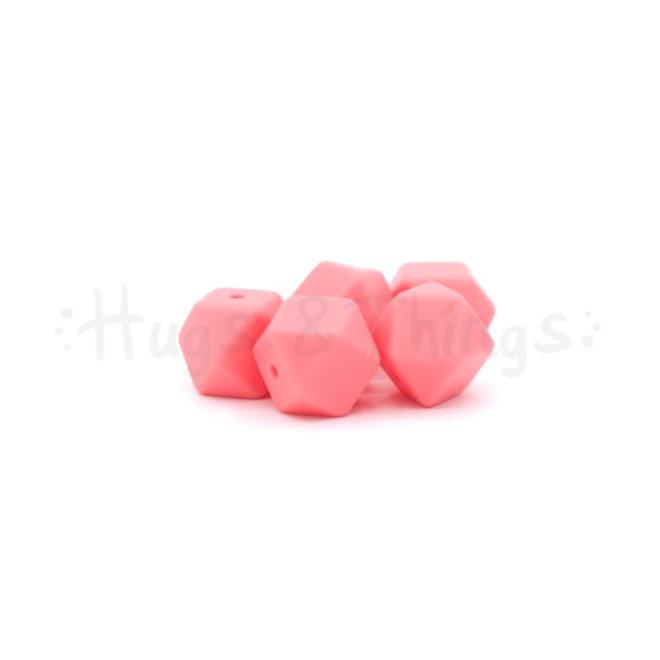 Mini-Hexagon - Flamingoroze
